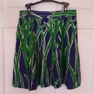 Lilly Pulitzer a line flared skirt
